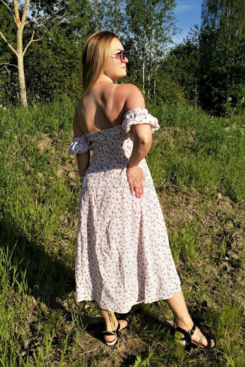 Платье Джульетта в цветок
