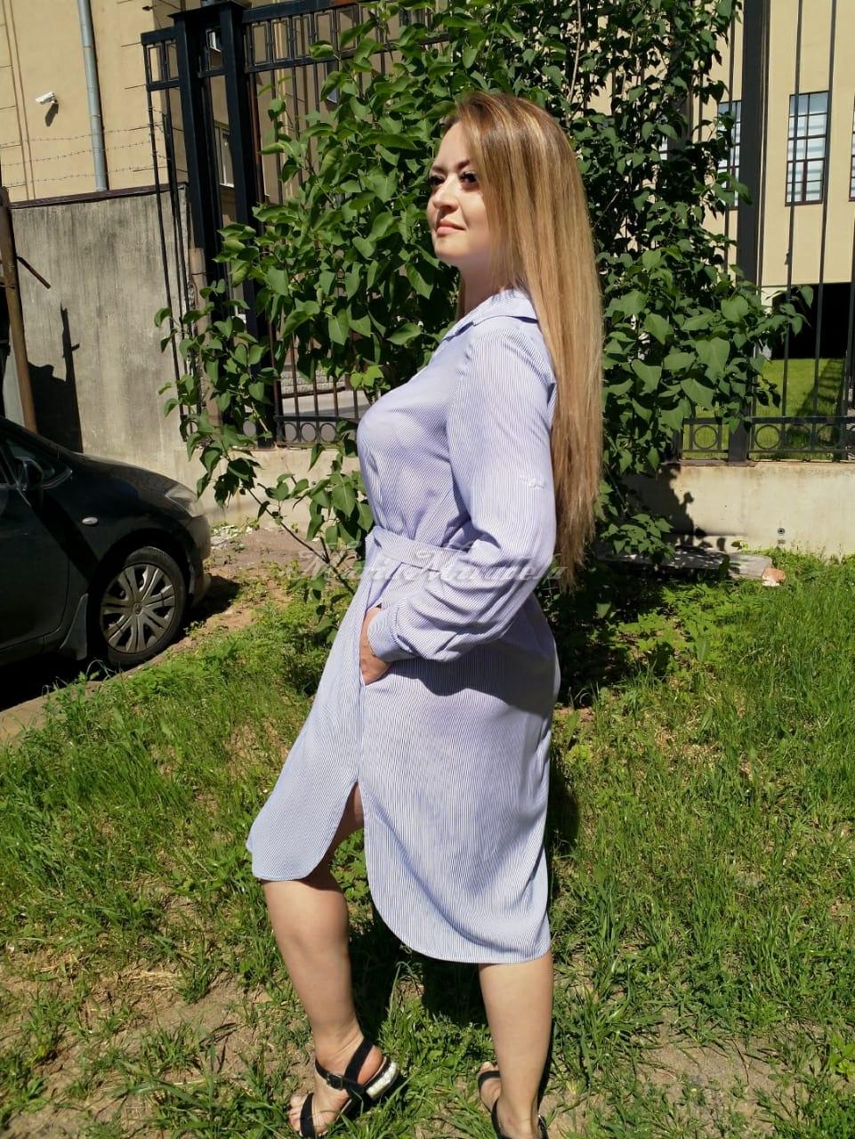 Рубашка-Платье в полоску